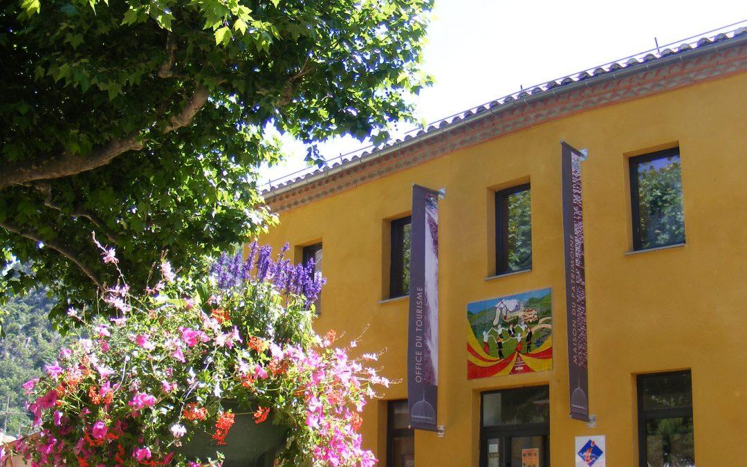 La oficina de turismo de Vernet-les-Bains
